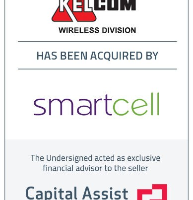 Capital Assist (Valuation) Inc. advises KELCOM Wireless Ltd. on its sale to SmartCell Communications Inc.