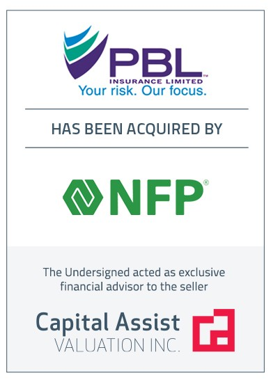 Transaction Announcement: PBL