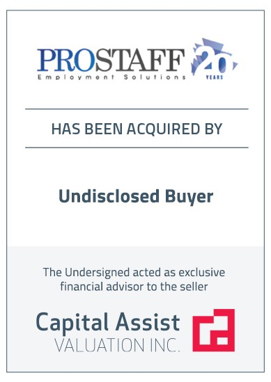Transaction Announcement: ProStaff