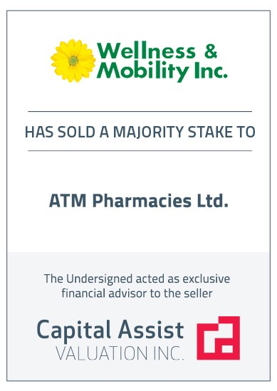 Transaction Announcement: Wellness & Mobility Inc.